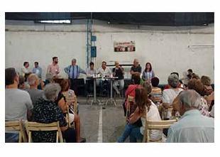 Rodríguez Larreta en la Comuna 12