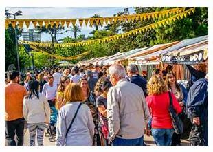 Mercado en Parque Saavedra