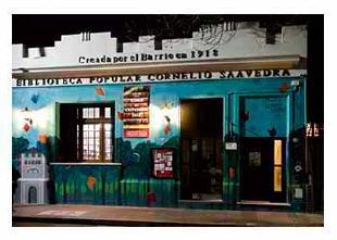 Actividades en la biblioteca en Saavedra